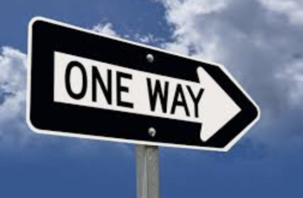 When a One Way street is not one way!